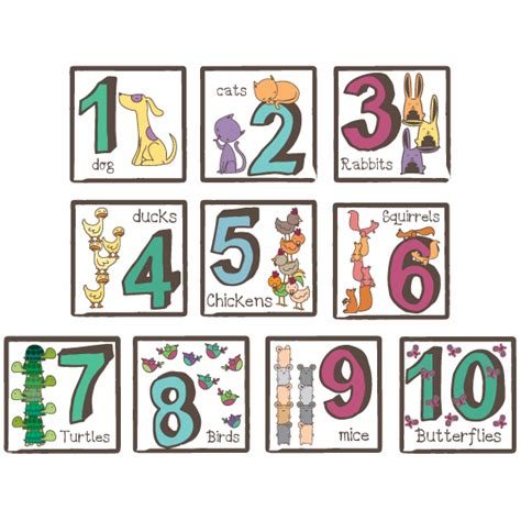 number wall decals number wall stickers