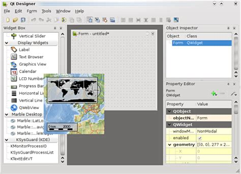 qt designer move widget layout marble marbledesigner kde techbase