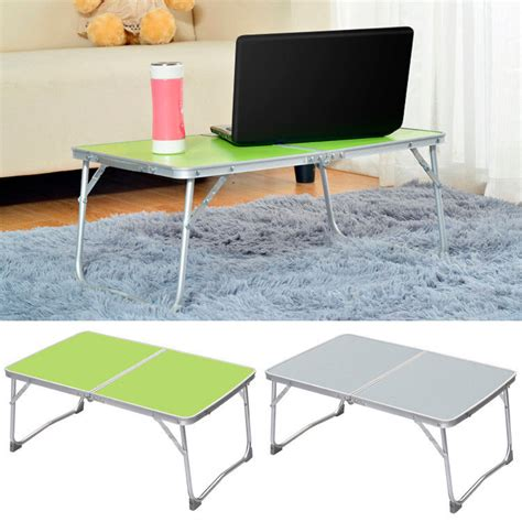 Bed Table For Laptop by Adjustable Portable Cing Folding Laptop Table Desk