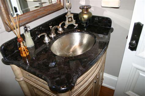 cleaning granite countertops in bathroom granite bathroom vanity easy to clean the homy design