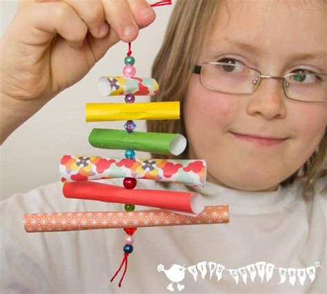 tree decorations children can make ornaments paper bead trees craft room