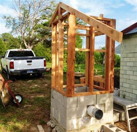 backyard smokehouse building a smokehouse welcome to the country blog