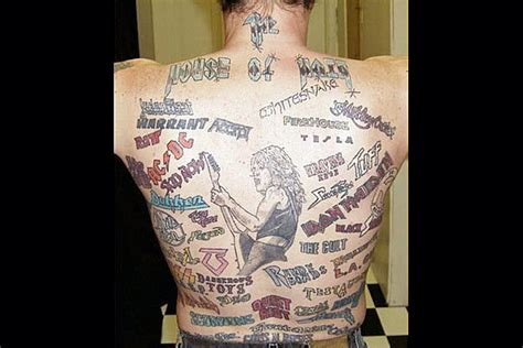 Worst Bald Of The Day Bumpshackcom by 10 Worst Rock Tattoos