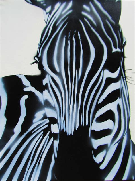 zebra pattern for painting zebra stencil