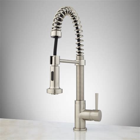 kitchen faucet ideas brushed nickel kitchen faucets pull out spray loccie