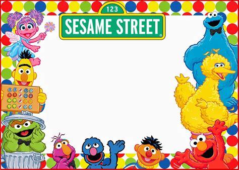 free sesame birthday invitation templates elmo and sesame birthday invitation free