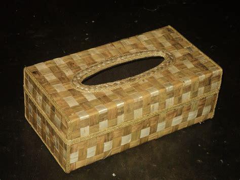 Tempat Sah Model Kotak tempat tisu atau kotak tisu cantik berbahan baku enceng gondok pusat kerajinan eceng gondok