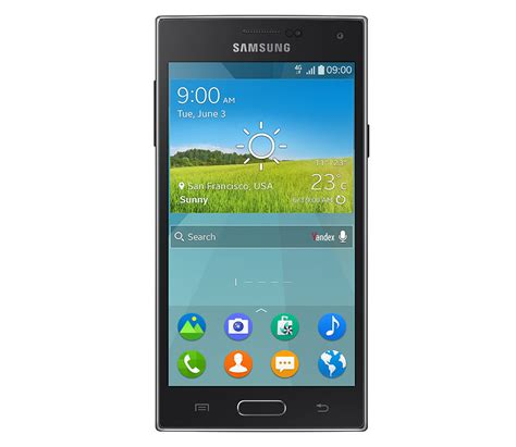 samsung z tizen powered smartphone from samsung photos specs