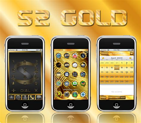 iphone themes gold s2 gold theme sinful iphone