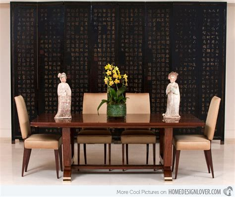 Asian Inspired Dining Room | 15 asian inspired dining room ideas home design lover