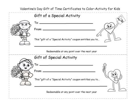 holiday  coloring page valentines day gift  time