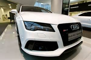 audi rs7 white edition