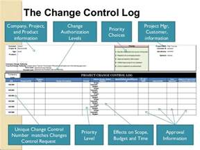 change log template project management how the change process affects project quality