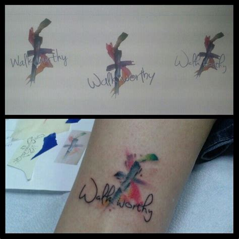 watercolor tattoo years later watercolor for years i wanted a on my