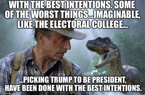 Meme Generator Jurassic Park - jurassic park trump president worst thing imaginable