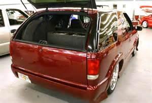 custom 2001 chevy blazer lowrider rear