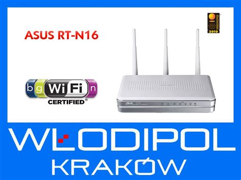 Router Asus Rt N16 router asus rt n16 xdsl wifi n300 printserwer zdj苹cie na