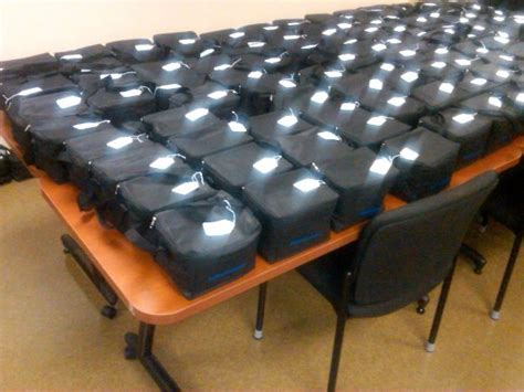 goodie bags  greenville south carolina pd great idea