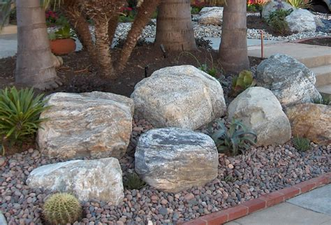 Large Rock Landscaping Ideas Decorating Large Landscaping Rocks The Home Decor Ideas