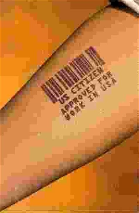 barcode tattoo story cashless society antichrist monetary system coming into focus