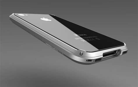 Apple Iphone 4 4s Hybrid Metal Aluminium Bumper Leather Back Casing 1 i aluminum iphone 4s