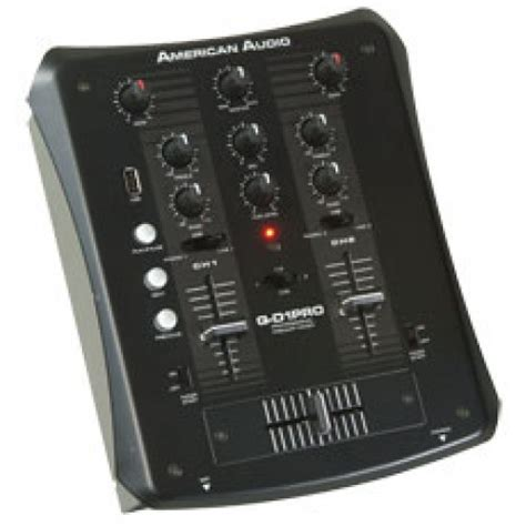 Audio Mixer American Standard american audio qd1 pro dj mixer with usb
