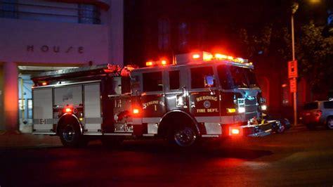 wallpaper engine red line redding fire department engine 1 responding california