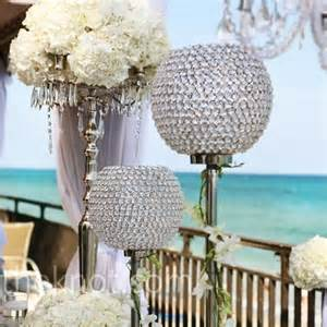 bling centerpieces wedding reception wedding theme bling visuelle productions s bridal show