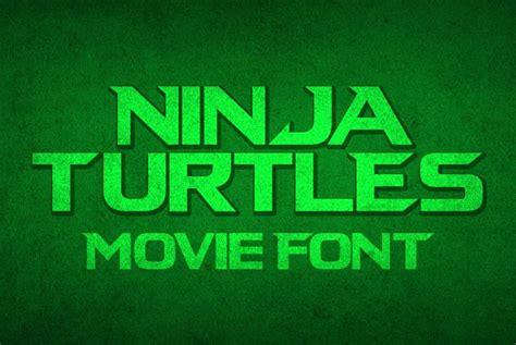 ninja turtles font befontscom