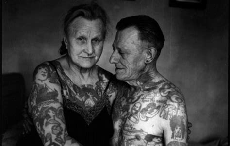 old person tattoo with tats