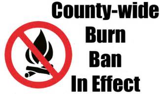 Burn Ban Burn Ban In Effect River Crossing Home Owners Association