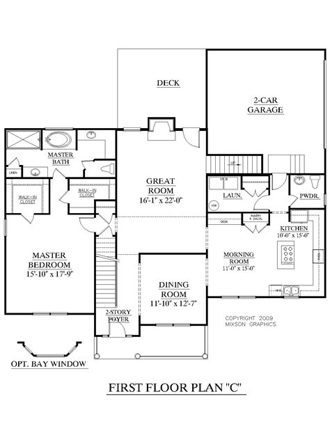 Houseplans Biz House Plan 2675 C The Longcreek C Two Storey House Plans With Kitchen Upstairs