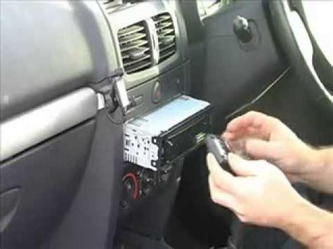 how to install a sony cdx gt420u car stereo