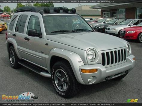 2003 Jeep Liberty Renegade 2003 Jeep Liberty Renegade 4x4 Bright Silver Metallic