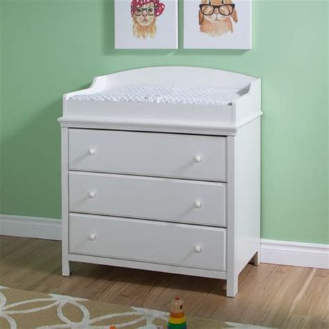 south shore change table south shore cotton changing table with drawers