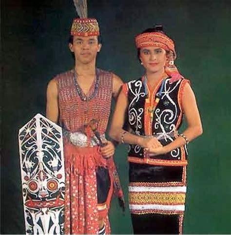 Ikat Kepala Tenun Dayak Kalimantan Ikd138 gambar dan nama pakaian adat tradisional dari 33 provinsi