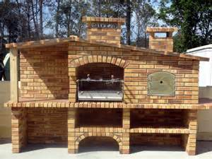 Outdoor Kitchen Stainless Steel Cabinet Doors by Bbq And Ovens Mediterranean Brick Barbecue Fr001f