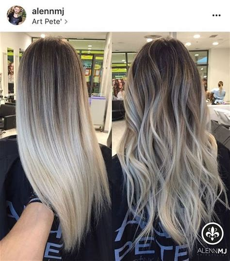 25 unique trending hair color ideas on pinterest hair pictures ashy ombre best hairstyles library