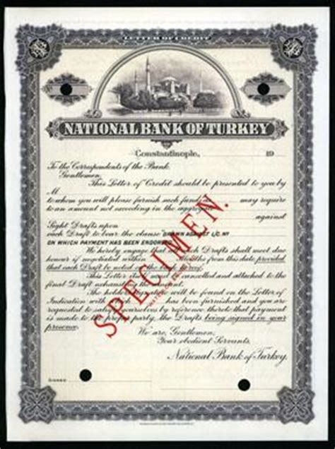 Hatton National Bank Letter Of Credit National Bank Of Turkey Letter Of Credit Specimen