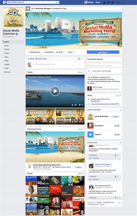 facebook themes business facebook changes page layouts this week in social media
