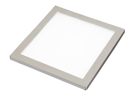 led flat panel light sirius led flat panel cabinet light