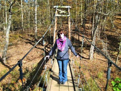 swinging in durham swinging bridge picture of eno river state park durham
