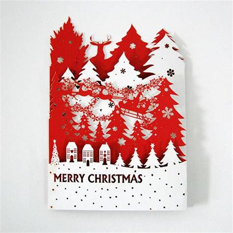 laser cut popup card template laser cut 3d pop up greeting cards hg1401 01