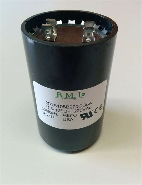 well start capacitor 1hp 1 5hp 2hp capacitor 275464113 f franklin 2823018110 2823008110 ebay