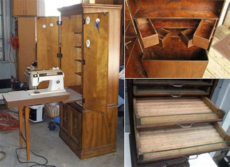 second sewing cabinets sewing furniture part 5 large cabinets core77