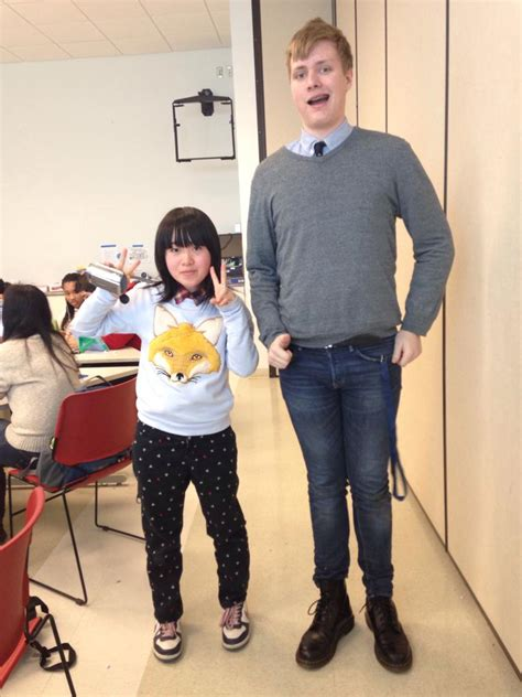 japanese students  visiting  school im  tallest