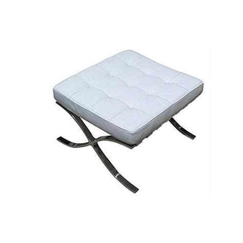 barcelona ottoman white barcelona ottoman white barcelona chair ottoman white