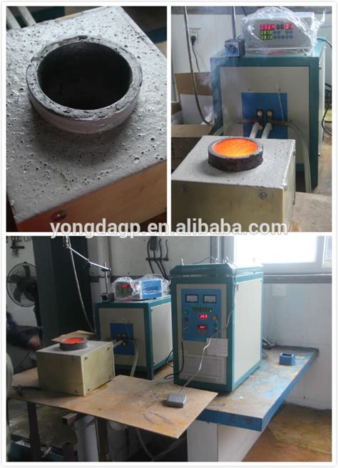 electric induction furnace steel energy saving induction melting furnace electric smelting furnace for copper platinum iron steel