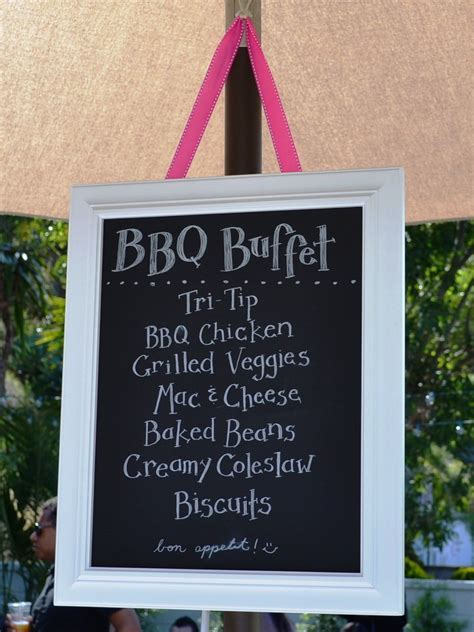 Backyard Wedding Bbq Menu Ideas Housewarming Summer Backyard Bbq