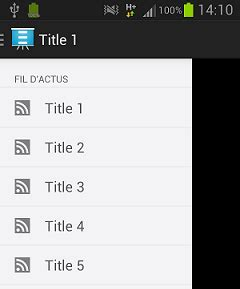 layoutinflater in drawer android navigation drawer add headers in listview